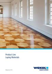 New edition product line laying materials