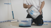 WAKOL PU 280 Polyurethane Primer - processing video