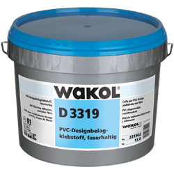 WAKOL D 3319 LVT Flooring Adhesive, fibre-containing