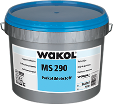 WAKOL MS 290 Parquet Adhesive - for laying modern, shear-resistant parquet